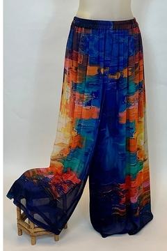 STERLING STYLES INC. MONET PALAZZO PANT - Product List Image