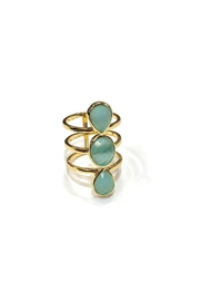 Marcia Moran Monet Statement Ring - Product Mini Image