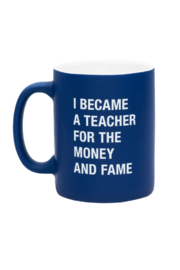About Face Designs Money and Fame Mug - Product Mini Image