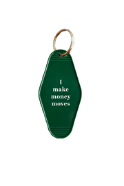 He Said, She Said Money Moves Keychain - Product Mini Image