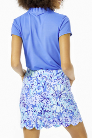 Lilly Pulitzer  Monica Scallop Golf Skort Luxletic UPF 50+ - Side cropped