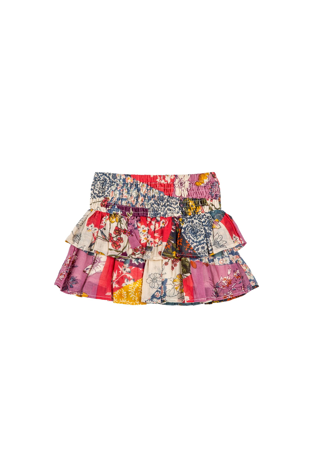 Mimi and Maggie Monique Double Ruffle Skirt - Main Image