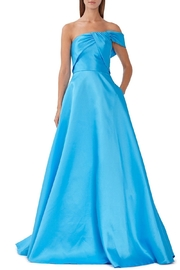 Monique Lhuillier ML One Shoulder Gown - Product Mini Image