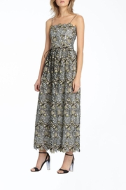 Monique Lhullier Floral Embroidered Gown - Product Mini Image