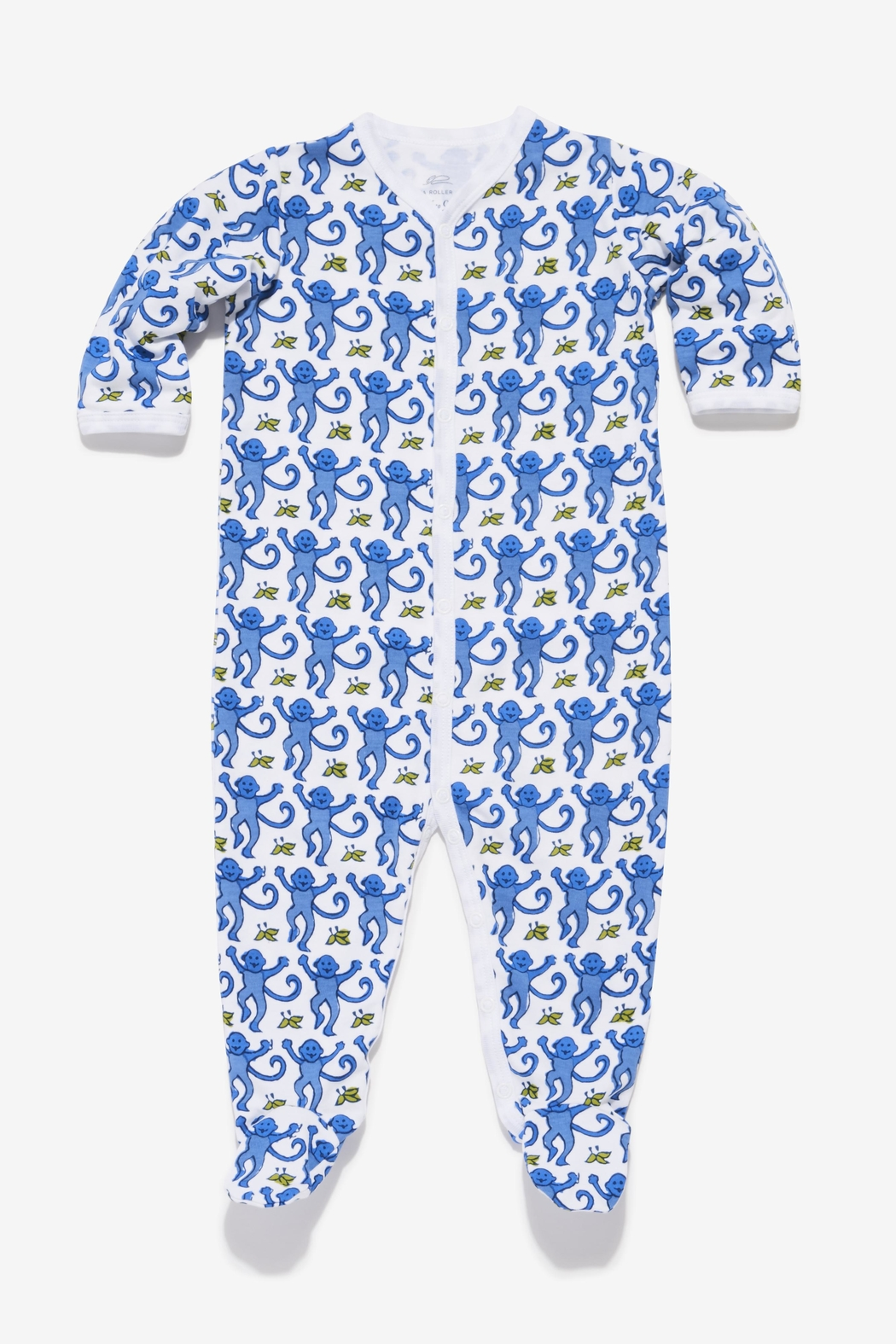 Roberta Roller Rabbit Monkey Snap Suit - Front Cropped Image
