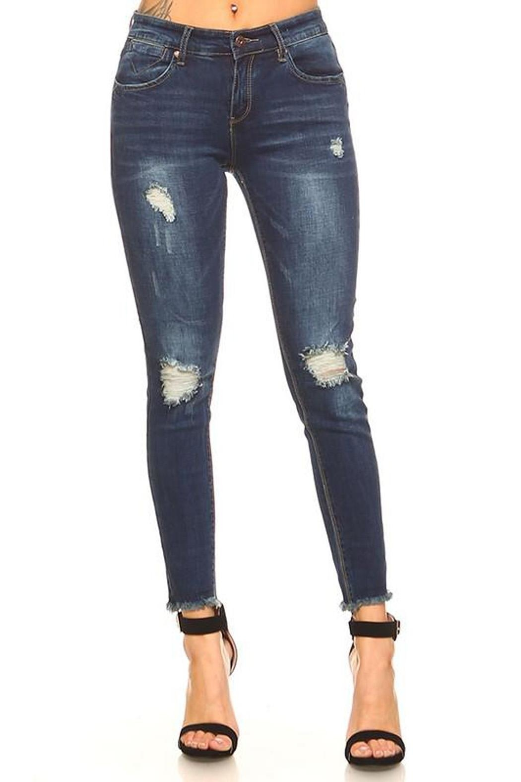 Monkey Ride Jeans The Ella Jean - Front Full Image