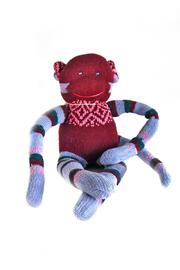Monkeyshine Studio Sock Monkey Cosmo - Product Mini Image