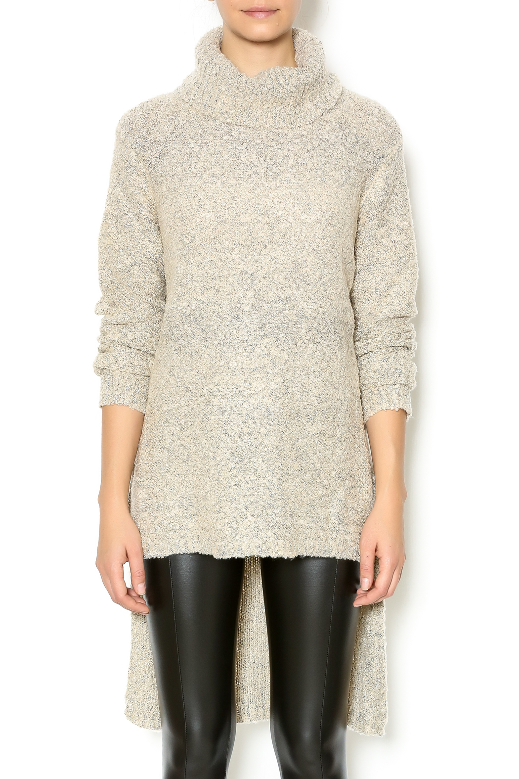 Mono B High Low Turtleneck Sweater from New York City by Dor L'Dor ...