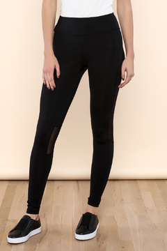 Shoptiques Product: Mesh Panel Yoga Pant