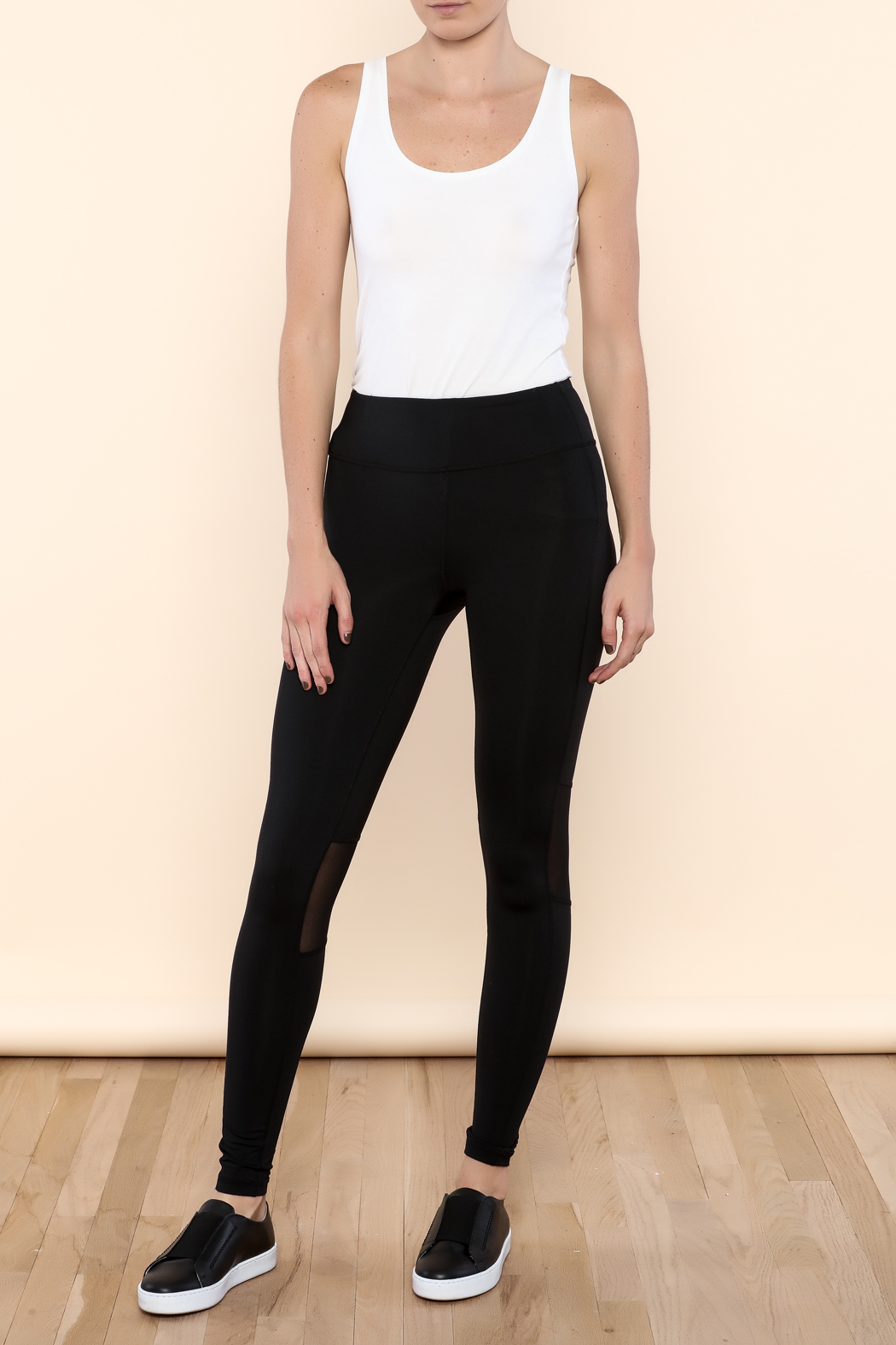 mesh yoga pants mono b mesh panel pant from island by epic 10780