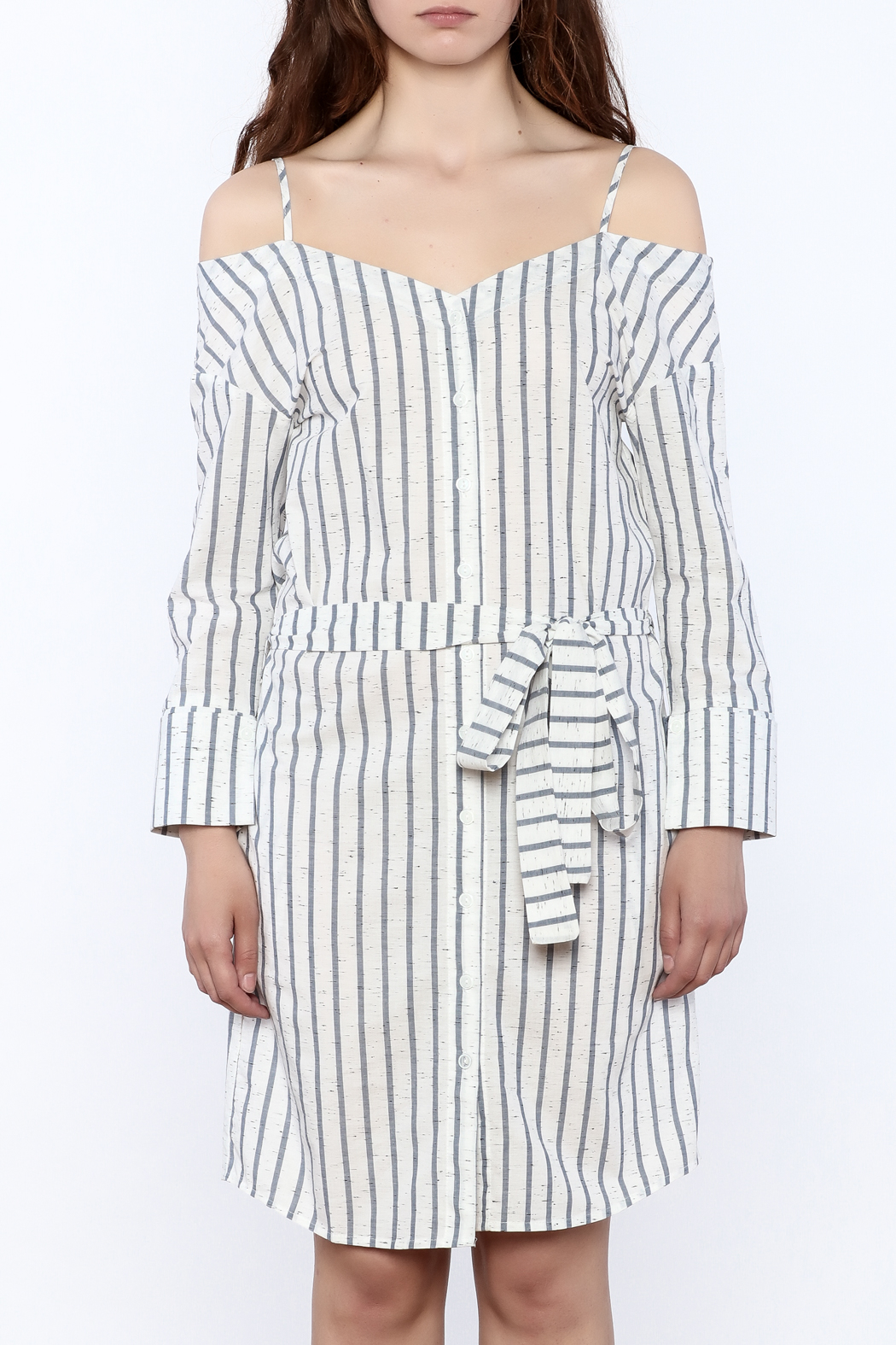 Stripe Button Down Dress