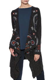 Mono Reno Embroidered Cardigan - Product Mini Image