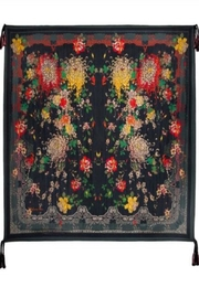 Johnny Was Mono Silk Scarf - Front cropped