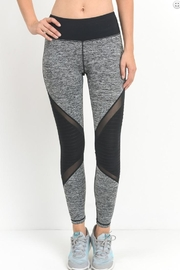 Mono B Athletic Moto Leggings - Product Mini Image