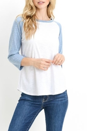 Mono B Baseball Tee - Product Mini Image