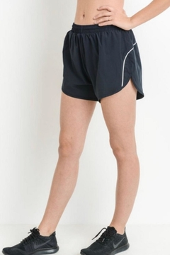 Mono B Black Athletic Shorts - Product List Image