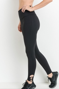 Mono B Black Detail Leggings - Product List Image
