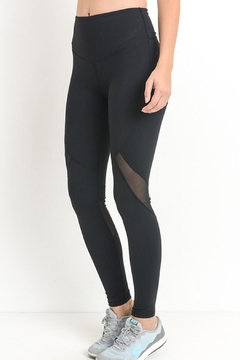 Shoptiques Product: Black Sheer Leggings