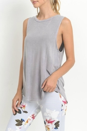 Mono B Braided Accent Tank - Front full body