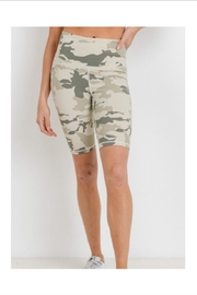 Mono B Camo Athletic Shorts - Front cropped