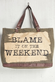 Mono B Canvas Weekend Duffle - Product Mini Image
