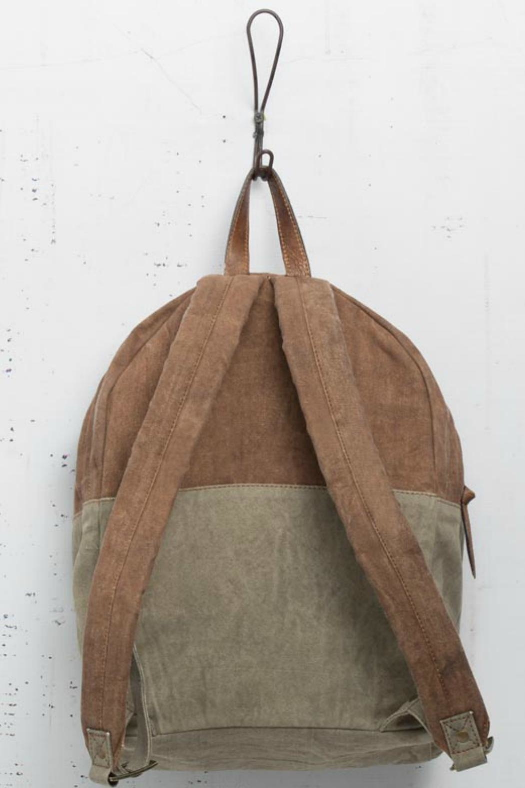 Mono B Classic Canvas Backpack - Front Full Image