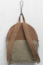 Mono B Classic Canvas Backpack - Front full body