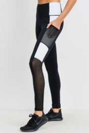 Mono B Colorblock Leggings - Product Mini Image