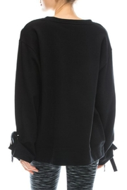 Mono B Comfy Black Sweatshirt - Front full body