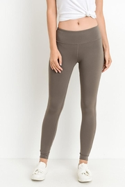 Mono B Criss-Cross Cut Out Full Leggings - Product Mini Image