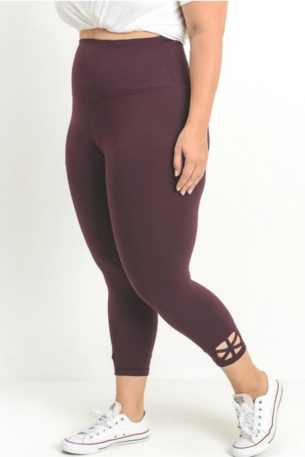 Mono B Criss Cross Legging - Front Full Image