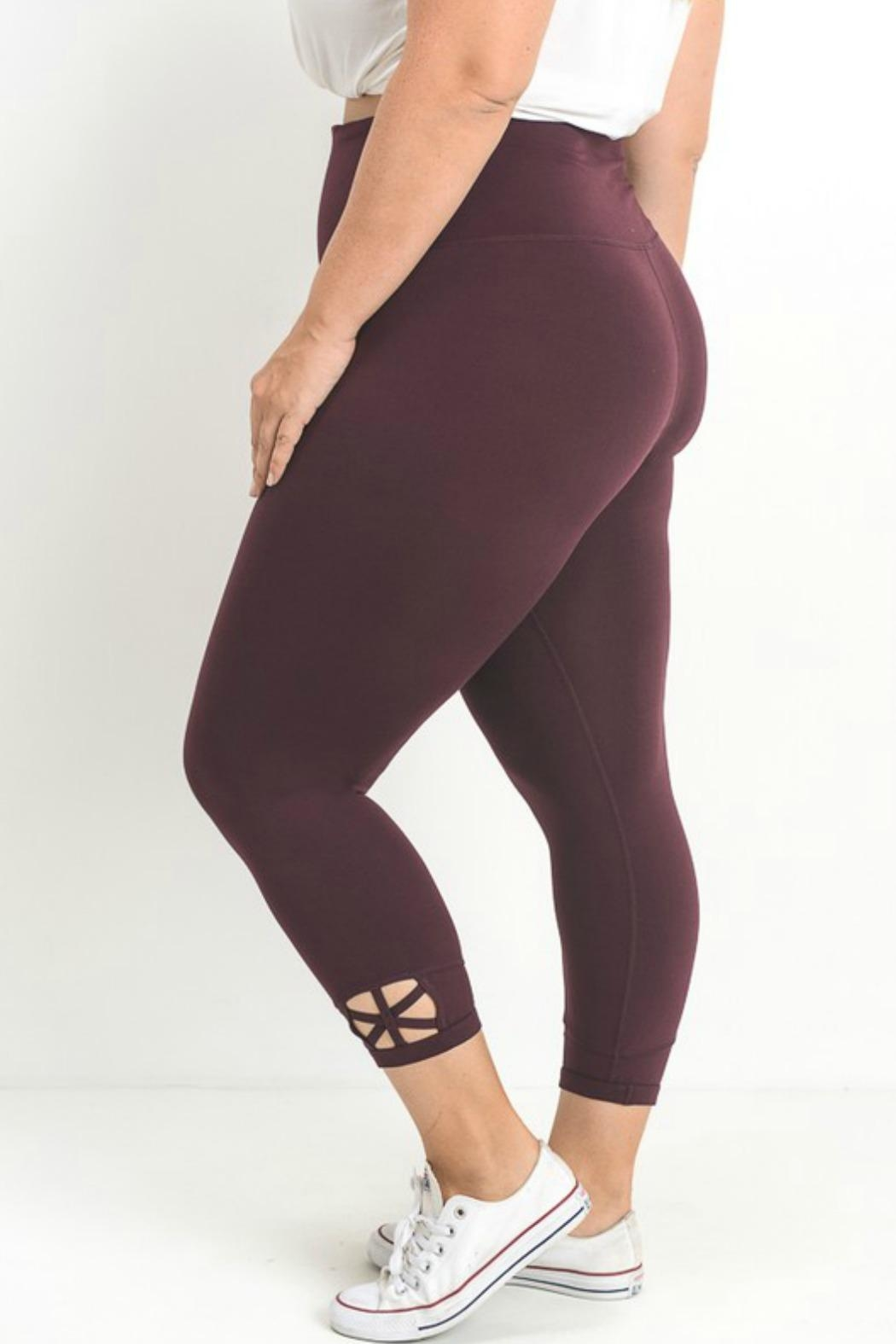 Mono B Criss Cross Legging - Main Image