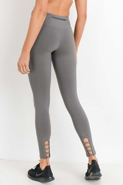 Mono B Crisscross Cut Out Full Leggings - Product Mini Image