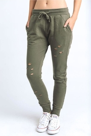 Mono B Cut Out Joggers - Front cropped