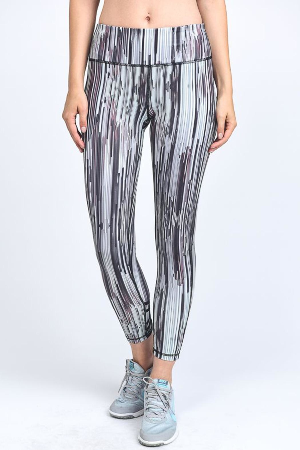 Mono B Digital Print Legging - Front Full Image