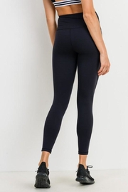 Mono B Essential Black Leggings - Back cropped