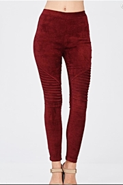 Mono B Faux Suede Leggings - Other