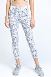 Mono B Floral Active Leggings - Front cropped