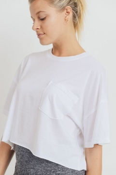 Mono B Flow Crop Tee - Product List Image