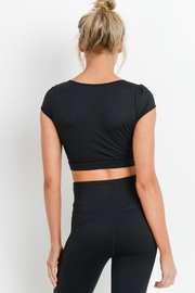 Mono B Form-Fit Crop Top - Front full body