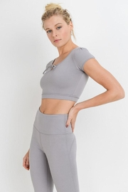Mono B Form-Fit Crop Top - Side cropped