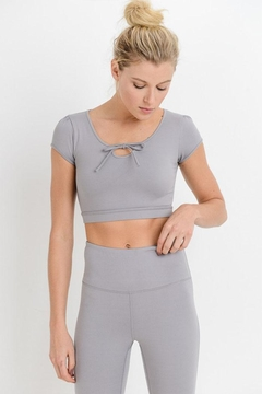 Mono B Form-Fit Crop Top - Product List Image