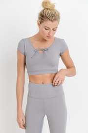 Mono B Form-Fit Crop Top - Product Mini Image