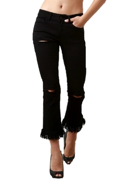 Shoptiques Product: Frayed Distressed Jeans