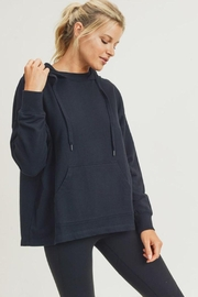 Mono B French-Terry Boxy Pullover - Product Mini Image