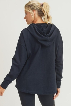 Mono B French-Terry Boxy Pullover - Alternate List Image