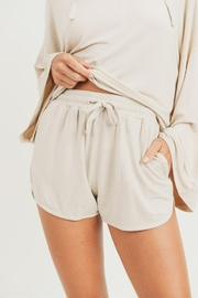 Mono B French-Terry Lounge Shorts - Product Mini Image