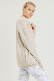 Mono B Fuzzy Mineral-Washed Pullover - Other
