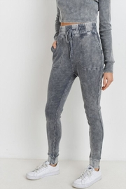Mono B Grey Waffle Leggings - Product Mini Image