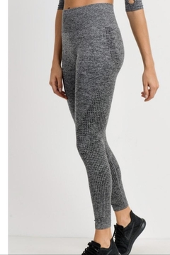 Mono B Grey Workout Leggings - Product List Image
